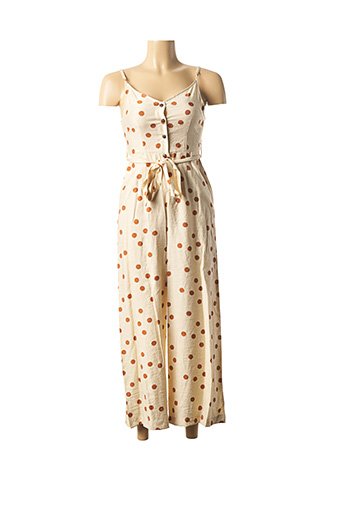Combi-pantalon beige TIFFOSI pour femme