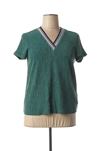 Top vert I.CODE (By IKKS) pour femme