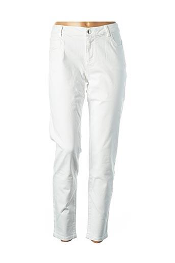 Pantalon 7/8 beige MORGAN pour femme