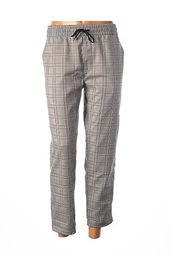 Pantalon 7/8 jaune TIFFOSI pour femme