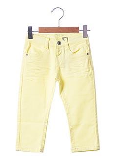 Pantalon casual jaune 3 POMMES pour garçon