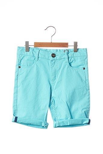 Bermuda bleu 3 POMMES pour garçon