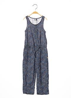 Combi-pantalon bleu 3 POMMES pour fille