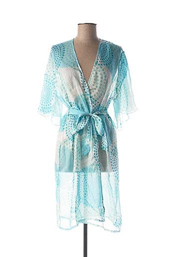 Chemise de nuit bleu LISE CHARMEL pour femme