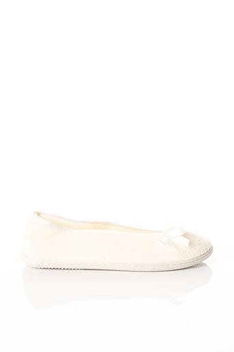 Chaussons/Pantoufles beige TAUBERT pour femme