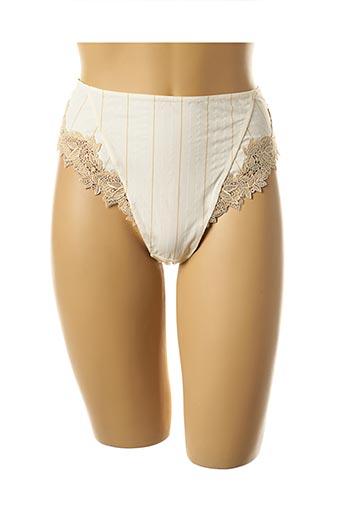 String/Tanga beige EPRISE BY LISE CHARMEL pour femme