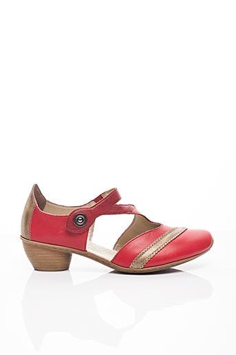Escarpins rouge RIEKER pour femme