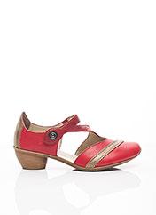 Escarpins rouge RIEKER pour femme seconde vue