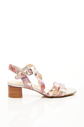 Sandales/Nu pieds violet FUGITIVE BY FRANCESCO ROSSI pour femme