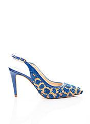 Escarpins bleu SACHA LONDON pour femme seconde vue