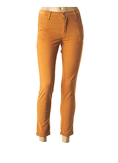 Pantalon 7/8 jaune LCDN pour femme