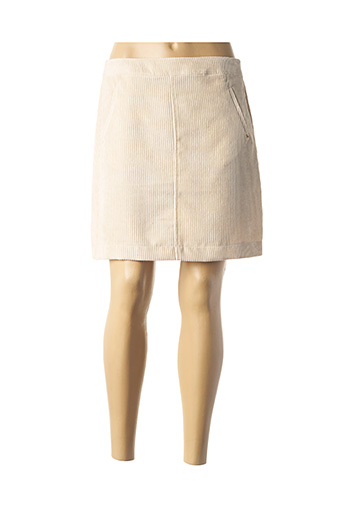 Jupe courte beige KOCCA pour femme
