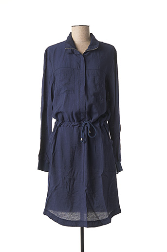 Robe mi-longue bleu IMITZ pour femme