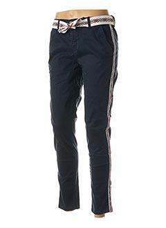 Pantalon casual bleu HEARTLESS JEANS pour femme