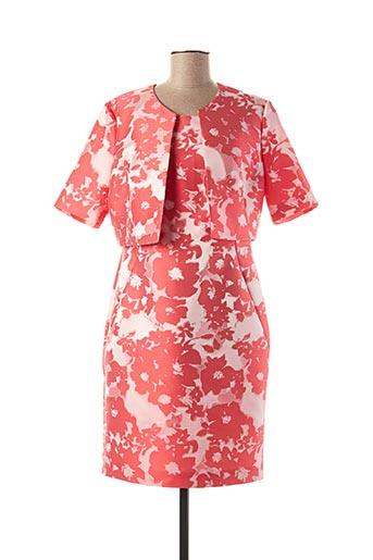 Veste/robe rouge VERA MONT pour femme