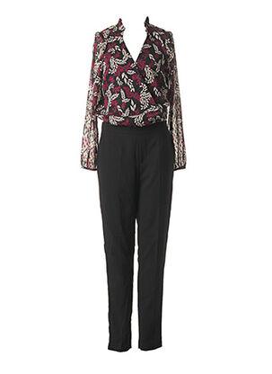 Combi-pantalon noir I.CODE (By IKKS) pour femme