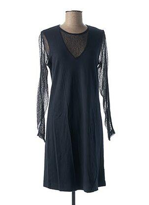 Robe mi-longue bleu I.CODE (By IKKS) pour femme