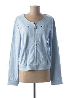 Veste casual bleu FUEGO WOMAN pour femme