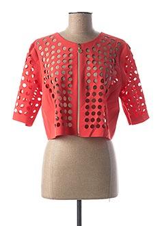 Veste casual rouge FUEGO WOMAN pour femme