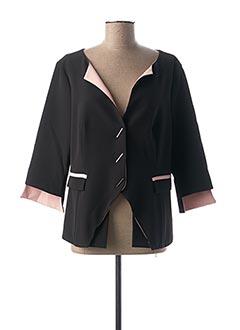 Veste chic / Blazer noir FUEGO WOMAN pour femme