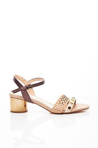 Sandales/Nu pieds beige BIBI LOU pour femme