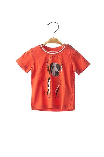 T-shirt manches courtes orange MARESE pour garçon