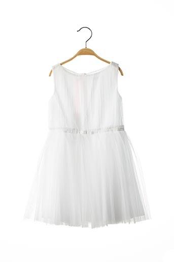 Robe mi-longue blanc MARESE pour fille