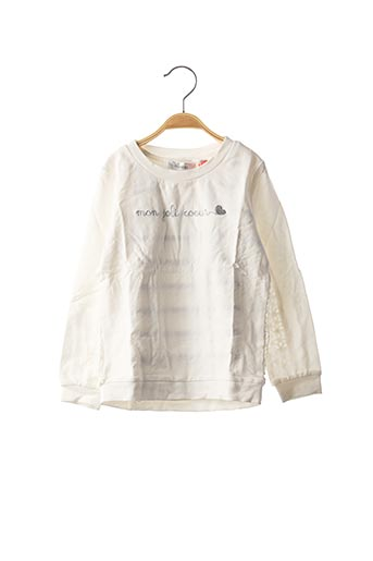 Sweat-shirt blanc MARESE pour fille