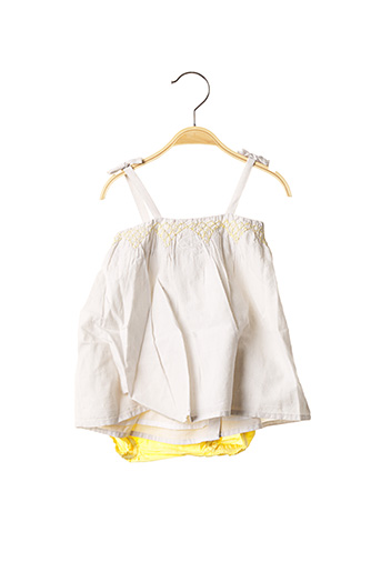 Robe mi-longue jaune MARESE pour fille