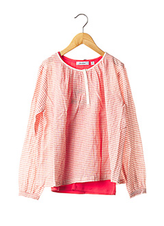 Blouse manches longues rouge MARESE pour fille