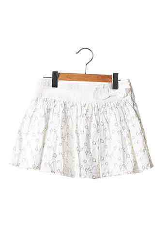 Jupe mi-longue blanc MARESE pour fille