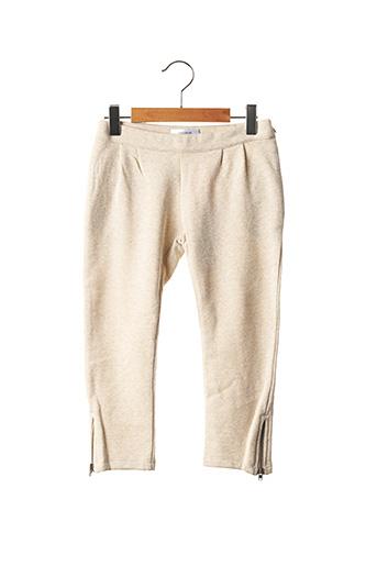 Pantalon casual beige MARESE pour fille