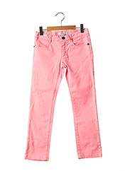Pantalon casual rose MARESE pour fille seconde vue