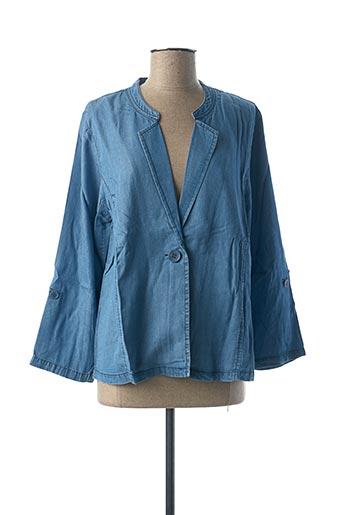 Veste en jean bleu CISO pour femme