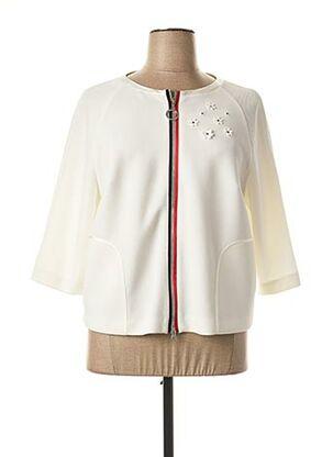 Veste casual blanc SPORTALM pour femme