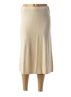 Jupe longue beige ESCORPION pour femme
