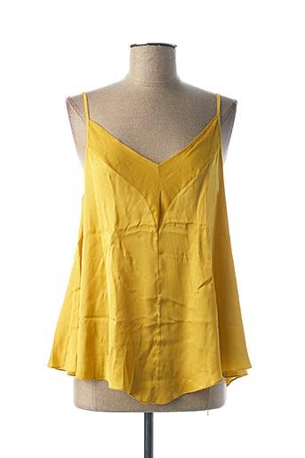 Top jaune B.YU pour femme