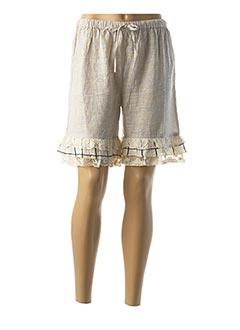 Produit-Shorts / Bermudas-Femme-RHUM RAISIN