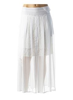 Jupe longue blanc ELISA CAVALETTI pour femme