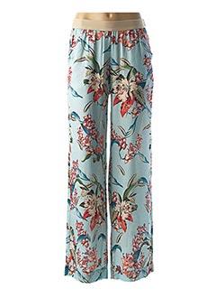 Pantalon casual bleu ALDOMARTINS pour femme