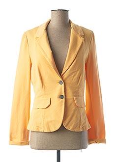 Veste casual orange PAKO LITTO pour femme