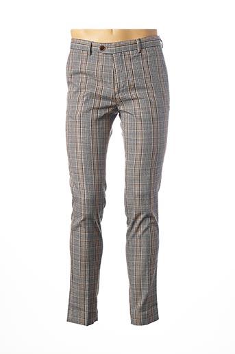 Pantalon casual gris SCOTCH & SODA pour homme