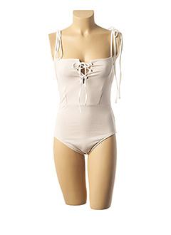 Body beige AMENAPIH pour femme