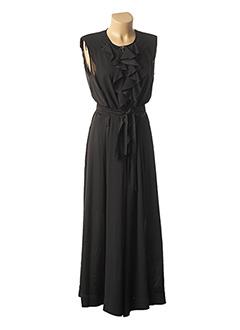 Combi-pantalon noir HIGH pour femme