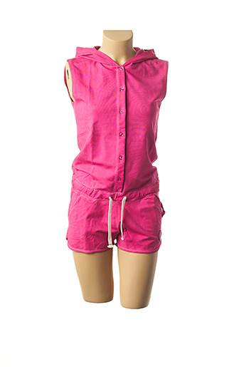 Combishort rose FRENCH TERRY 1818 pour femme