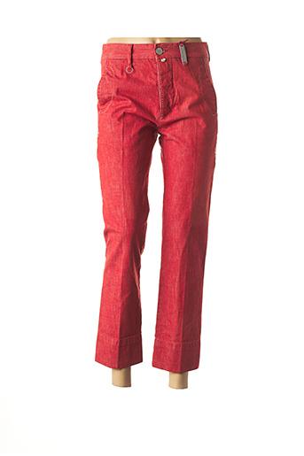 Pantalon 7/8 rouge HIGH pour femme
