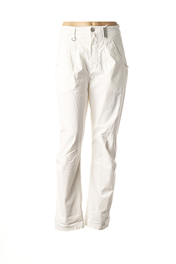 Pantalon casual blanc HIGH pour femme