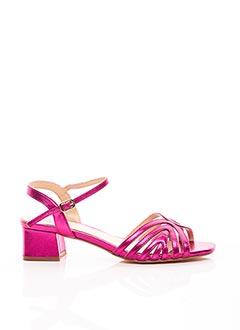 Sandales/Nu pieds rose BIBI LOU pour femme