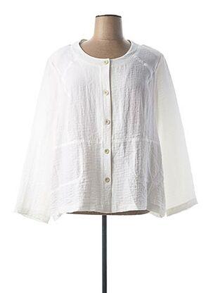Veste casual blanc JEAN GABRIEL pour femme
