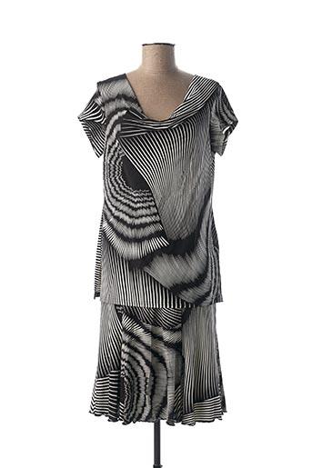 Top/jupe noir TELMAIL pour femme
